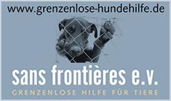 Grenzenlose Hilfe f�r Tiere - sans frontieres