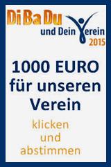 1000 EUR für unseren Verein